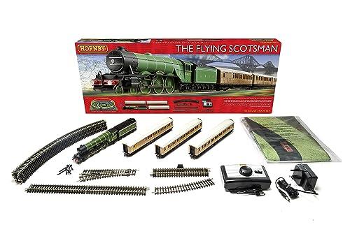 Hornby R1167 Flying Scotsman 00 Gauge Electric Train Set