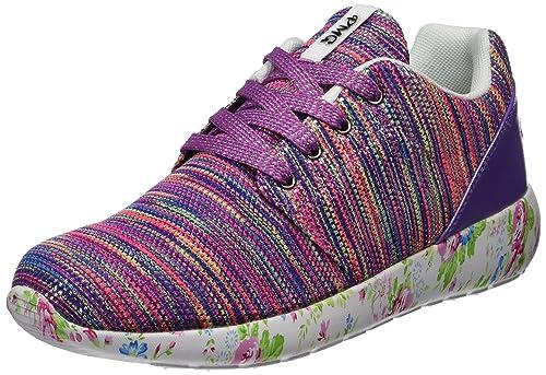 Primigi PDC 14514, Sneaker a Collo Alto Bambina, Viola (Viola Mult.), 29 EU