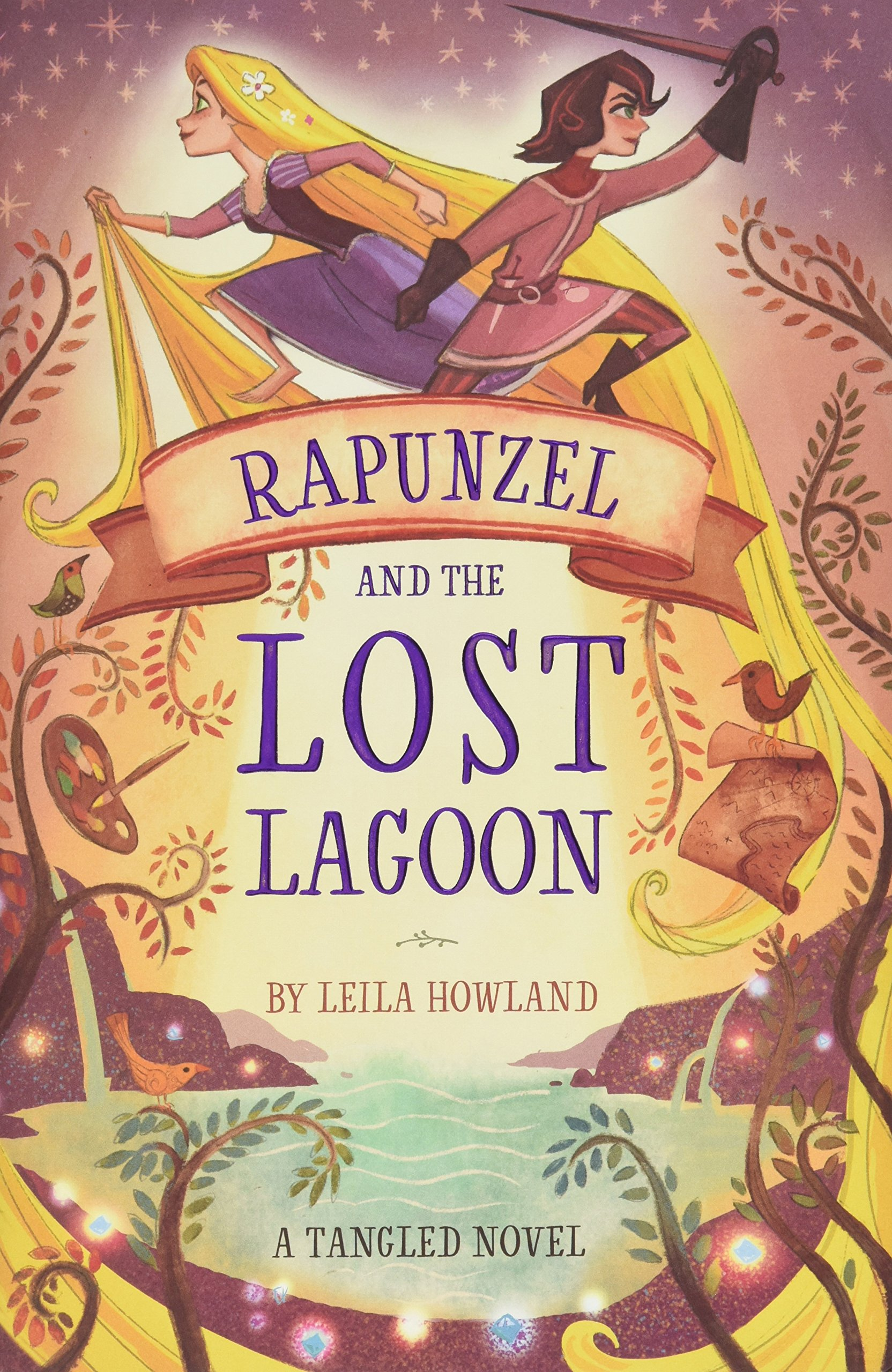 Rapunzel And The Lost Lagoon A Tangled Novel Howland Leila 9781484787236 Amazon Com Books