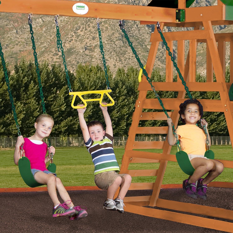 amazon com backyard discovery prescott all cedar wood playset