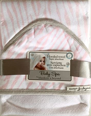 Amazon Com Baby Spa By Blankets Beyond Hooded Super Absorbent