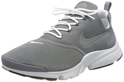NIKE Men's Presto Fly Cool Grey/White Pure Platinum Running Shoe 8 Men US