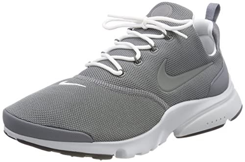 Nike Mens Presto Fly Cool Grey/White Pure Platinum Running Shoe 8 Men US