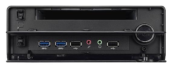 Shuttle XH97V - Barebón de sobremesa (Intel Socket H3, Serial ATA III, 16 GB), negro: Amazon.es: Informática