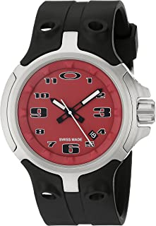 91d6KAAL35L._AC_UL320_SR222320_ amazon com oakley men's 26 301 swiss quartz stainless steel watch oakley fuse box watch at gsmx.co