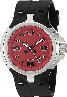 91d6KAAL35L._AC_UL320_SR222320_ amazon com oakley men's 26 301 swiss quartz stainless steel watch oakley fuse box watch at eliteediting.co