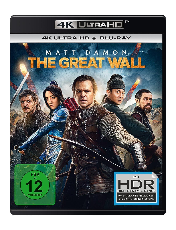 Amazon Com The Great Wall 4k Uhd Blu Ray Movies Tv