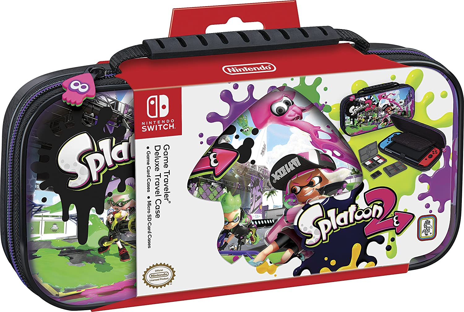 BigBen Custodia Splatoon per Nintendo Switch [Importación italiana]