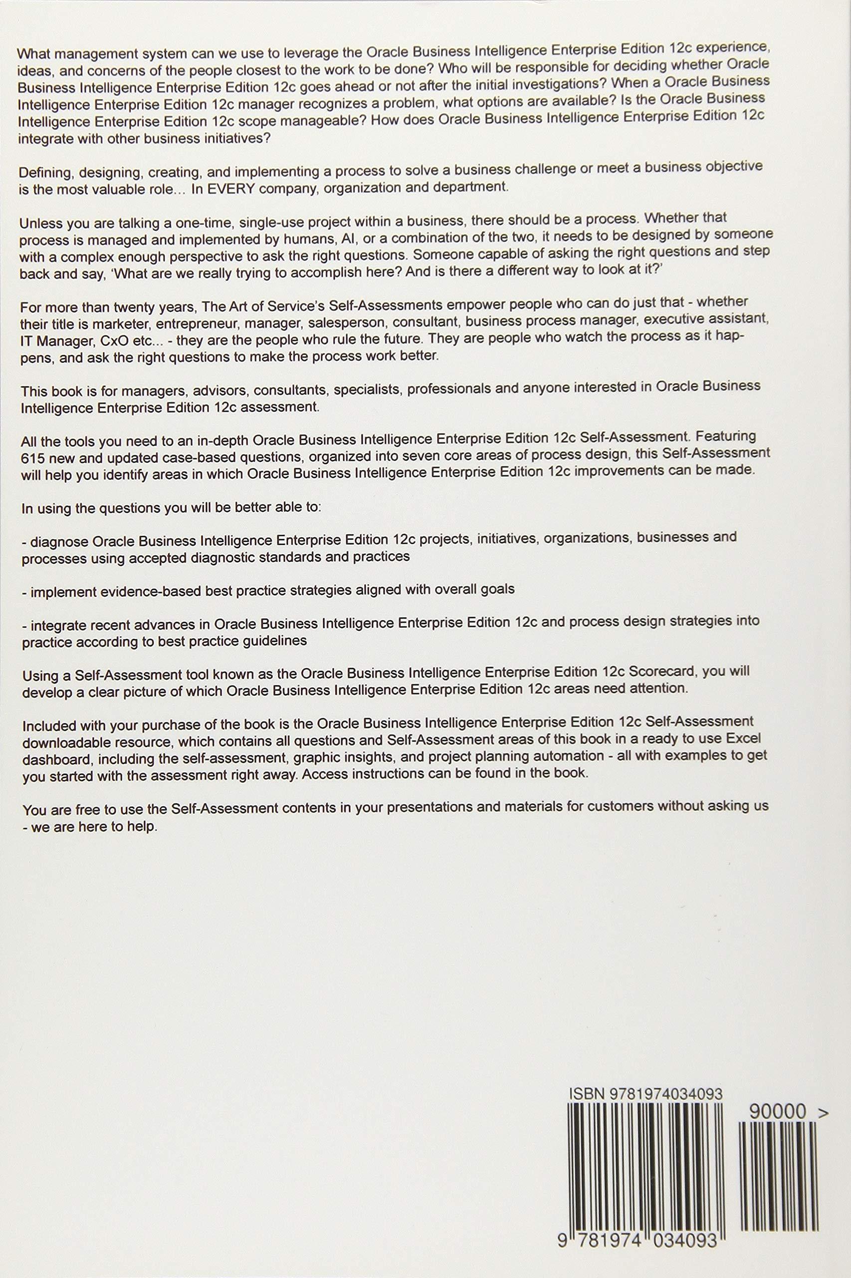 Oracle Business Intelligence Enterprise Edition 12c Complete