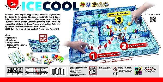 Amigo Spiel + Freizeit AMIGO 01660 Icecool, Kinderspiel des Jahres ...