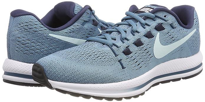 7b5372947200 Nike Women s Air Zoom Vomero 12 Running Shoe Cerulean Glacier Blue-Thunder  Blue 7.0  Amazon.in  Shoes   Handbags