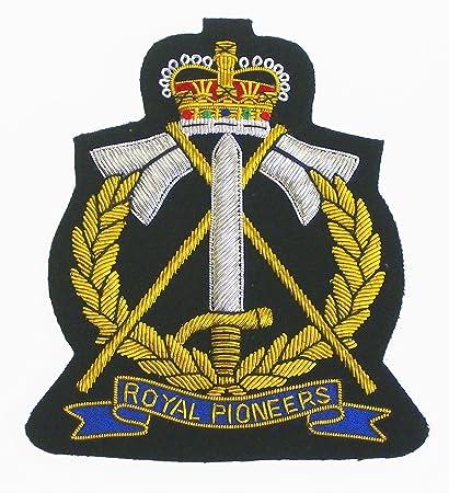 Royal Pioneer Corps (New Style) Blazer Badge: Amazon co uk