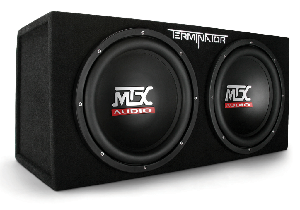 Subwoofer Box 12 Inch 1 200 Watt Sub Dual Mtx Audio