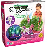 Little Growers Fairy Garden Craft Kit with Enchanted Unicorn and Light-Up Fairy Lights - Paint, Plant and Grow Your Very…