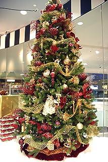 Amazon.com: Kurt Adler 150 Piece Gold Christmas Tree Trimming ...