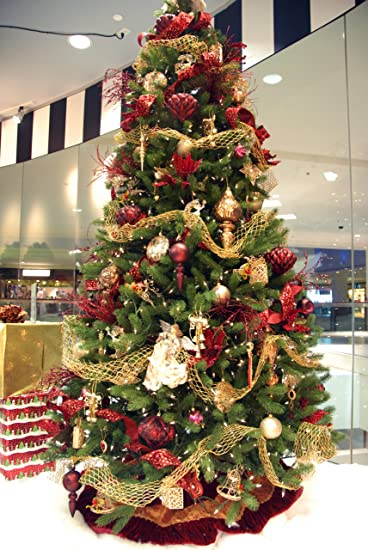 9 christmas tree decorating kits victorian style - Amazon Christmas Tree
