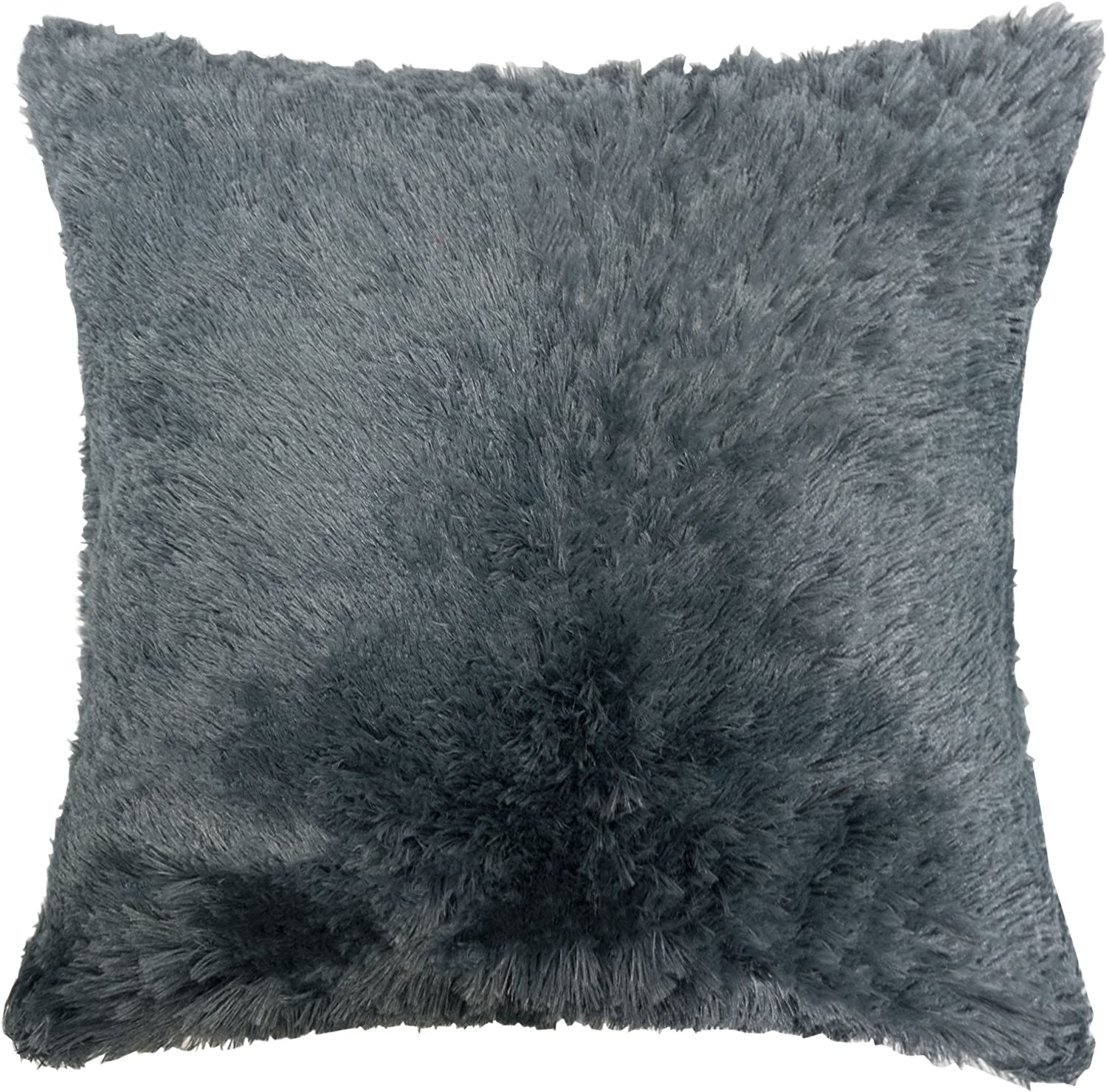 Details about  /Fluffy Plush Cushion Throw Square Pillow Cover Case Home Sofa Car New Decorative