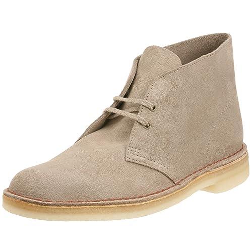Clarks Originals 11176 Scarpe stringate Desert Boot, Uomo, Beige (Sand), 40