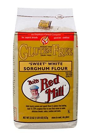 Harina de sorghum blanca dulce sin gluten: Amazon.com ...