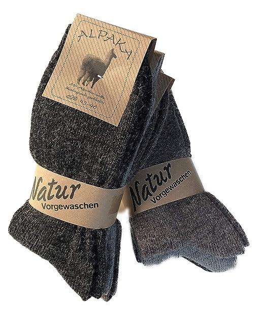 Raccogliere check-out calzature Lucchetti Socks Milano 6 PAIA calzini uomo CORTI IN misto lana e ALPACA  caldissime di alta qualità Calze Calde per il Freddo, MADE IN ITALY