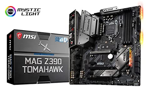 Amazon com: MSI MAG Z390 Tomahawk LGA1151 (Intel 8th and 9th