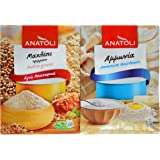 Anatoli Ground Mahlep and Ammonia (Ammonium Bicarbonate) for Cooking, Baking, Bundle