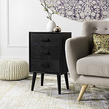 Amazon.com: Safavieh CHS5700D Home Collection Pomona Black 3 ...