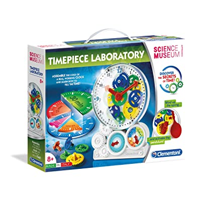 Clementoni 61763 Science Museum-Clock Lab: Toys & Games