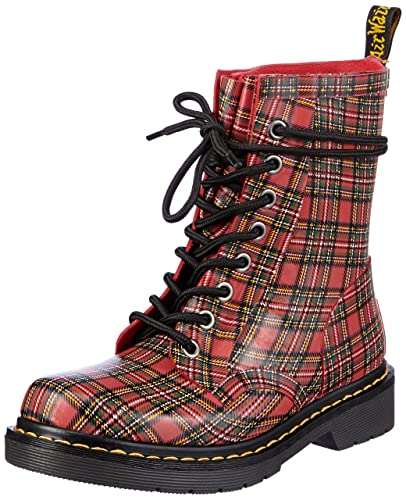 ... delicate colors ded9f94bd0 Dr. Martens Women s Drench 8-Eye Boot 9 Red  Amazon ... 4291712f5