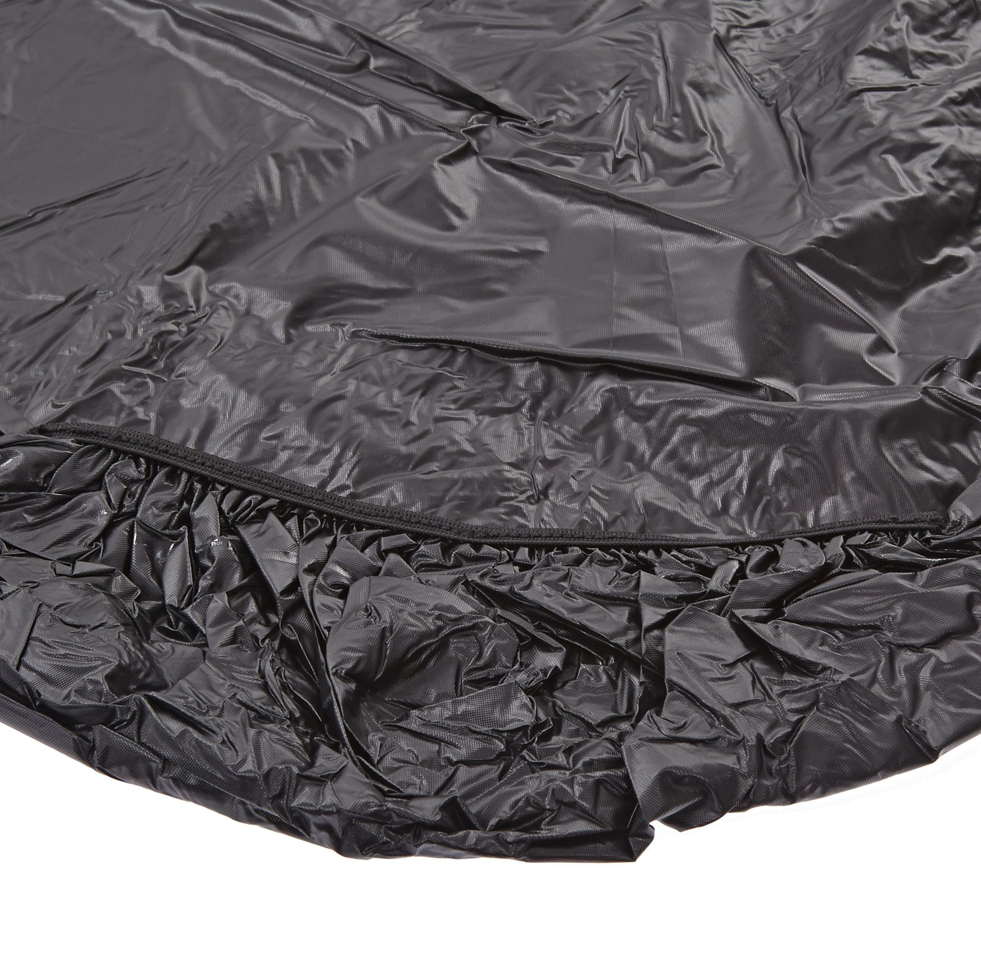Kwik-Cover 3096PK-BLK 30'' X 96'' Kwik-Cover Black Fitted Table Cover (1 full case of 50) by Kwik-Covers (Image #1)