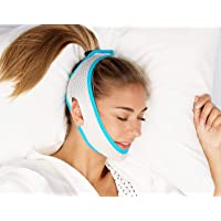 New 2019 Sleep Lab's Best Anti Snoring Chin Strap, Soft, Breathable Material, Voted Best Snore Strap in North America…