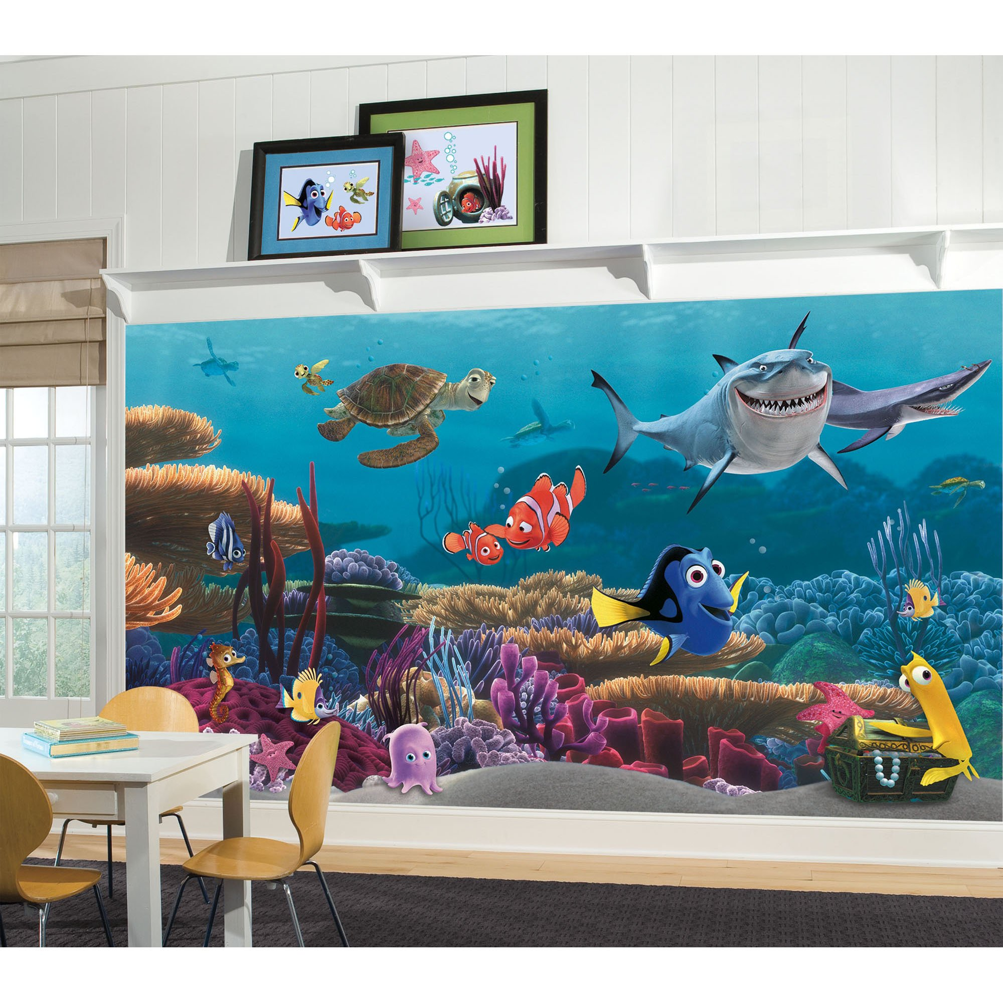 RoomMates Finding Nemo Prepasted, Removable Wall Mural - 6' X 10.5' by RoomMates (Image #2)