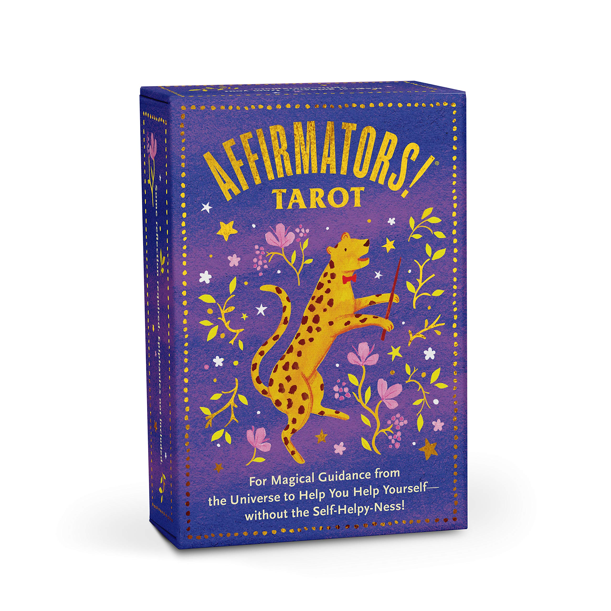 Affirmators! Tarot Deck: For Magical Guidance from the Universe to Help You Help Yourself - without the Self-Helpy-Ness! by Knock Knock