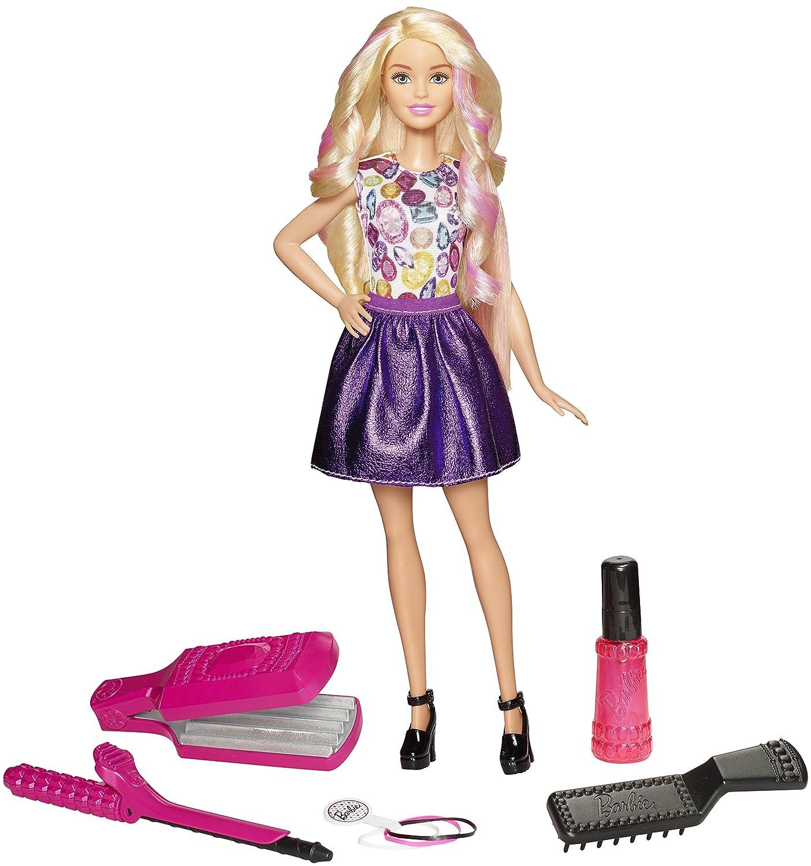 Barbie DIY Crimps & Curls Doll, Blonde