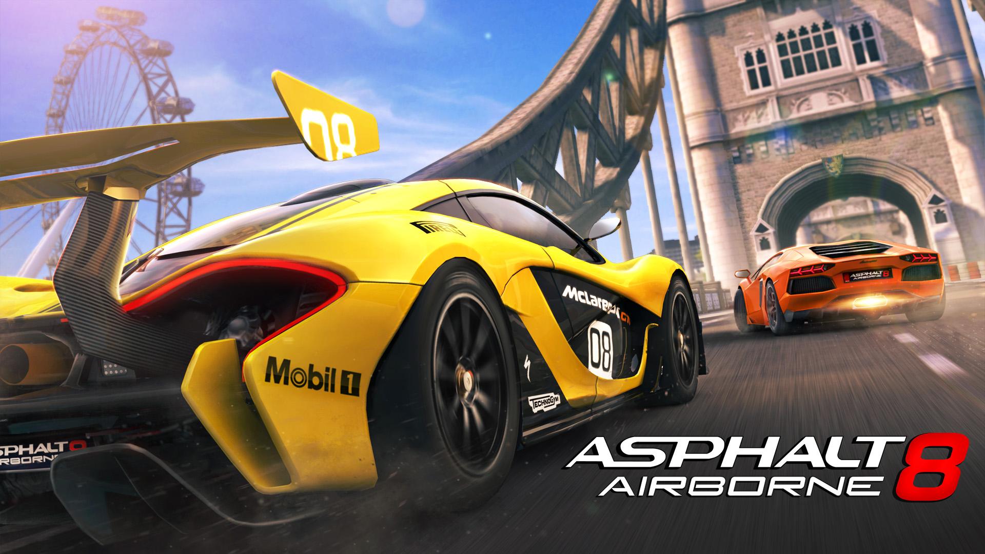 Asphalt eight No wifi Games