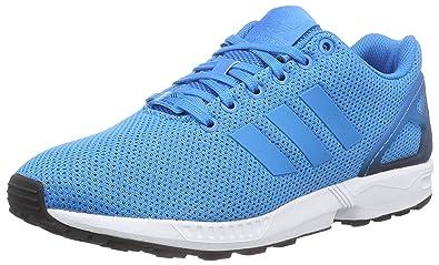 finest selection 9a657 4df31 adidas ZX Flux, Herren Laufschuhe, Blau (Solar Blue2 S14Core Black