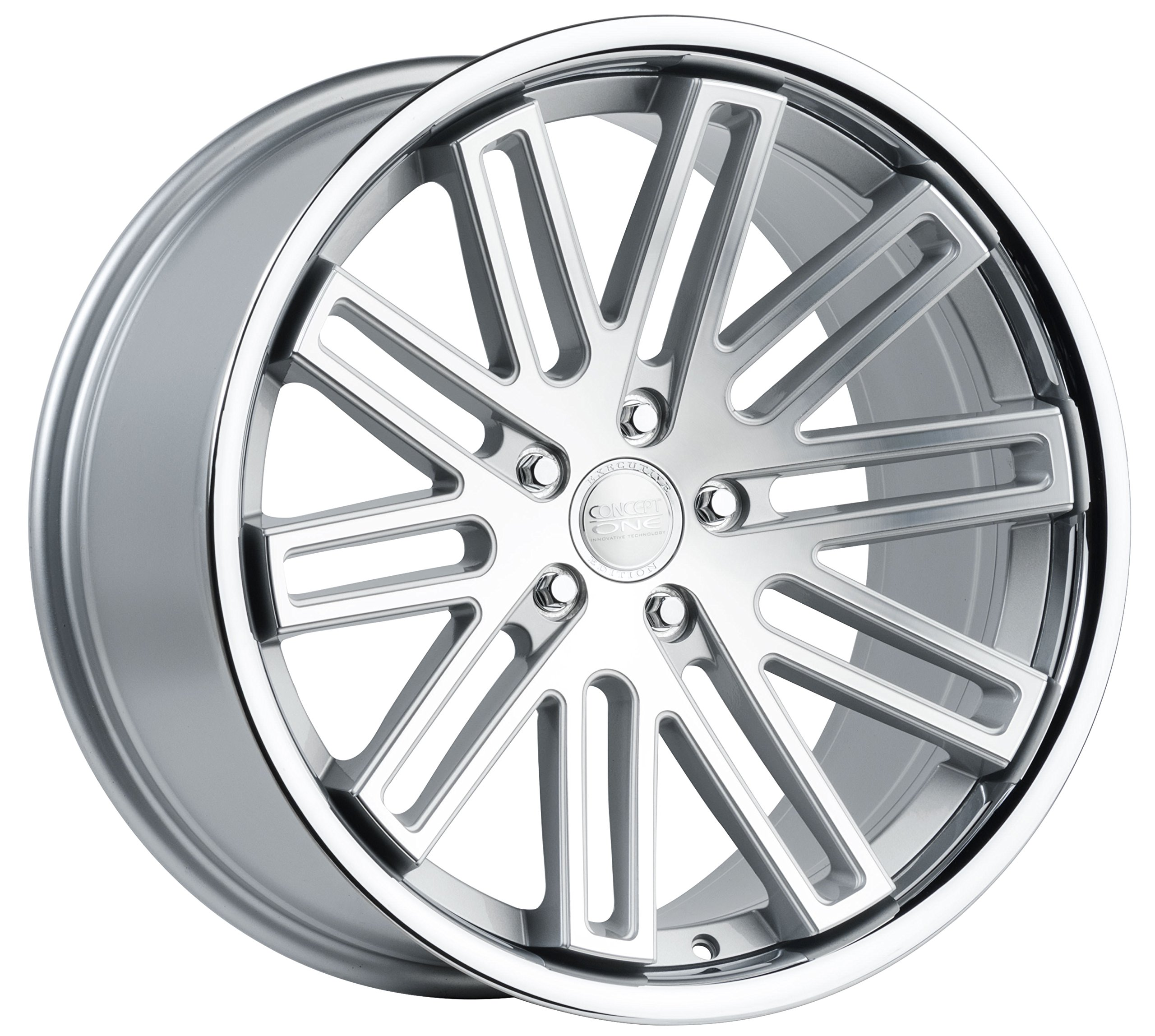Concept-One-CS-20-Silver-Machined-Wheel-with-Painted-Finish-x-105-inches-5-x-114-mm-45-mm-Offset