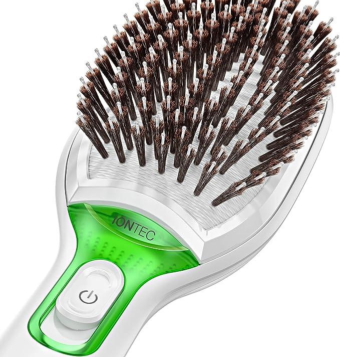Braun Satin Hair 7 BR750 - Cepillo de pelo con cerdas naturales, alisador de pelo con tecnología iónica para realzar el brillo del cabello: Amazon.es: Salud y cuidado personal