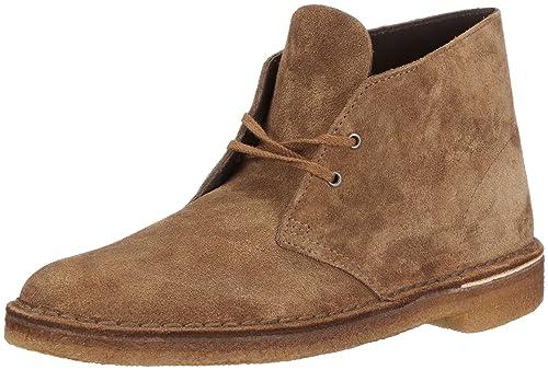 Clarks Desert Boot 203517176 - Botines Desert de ante para hombre, color marrón, talla 44.5: Amazon.es: Zapatos y complementos