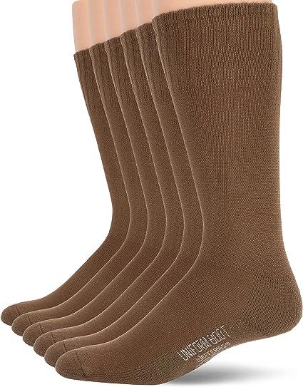 Jefferies Socks mens Military Rib Top