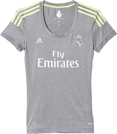 adidas 2ª Equipación Real Madrid CF - Camiseta Oficial Mujer