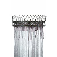 Deals on Creative Co-op Metal Curtain Crown