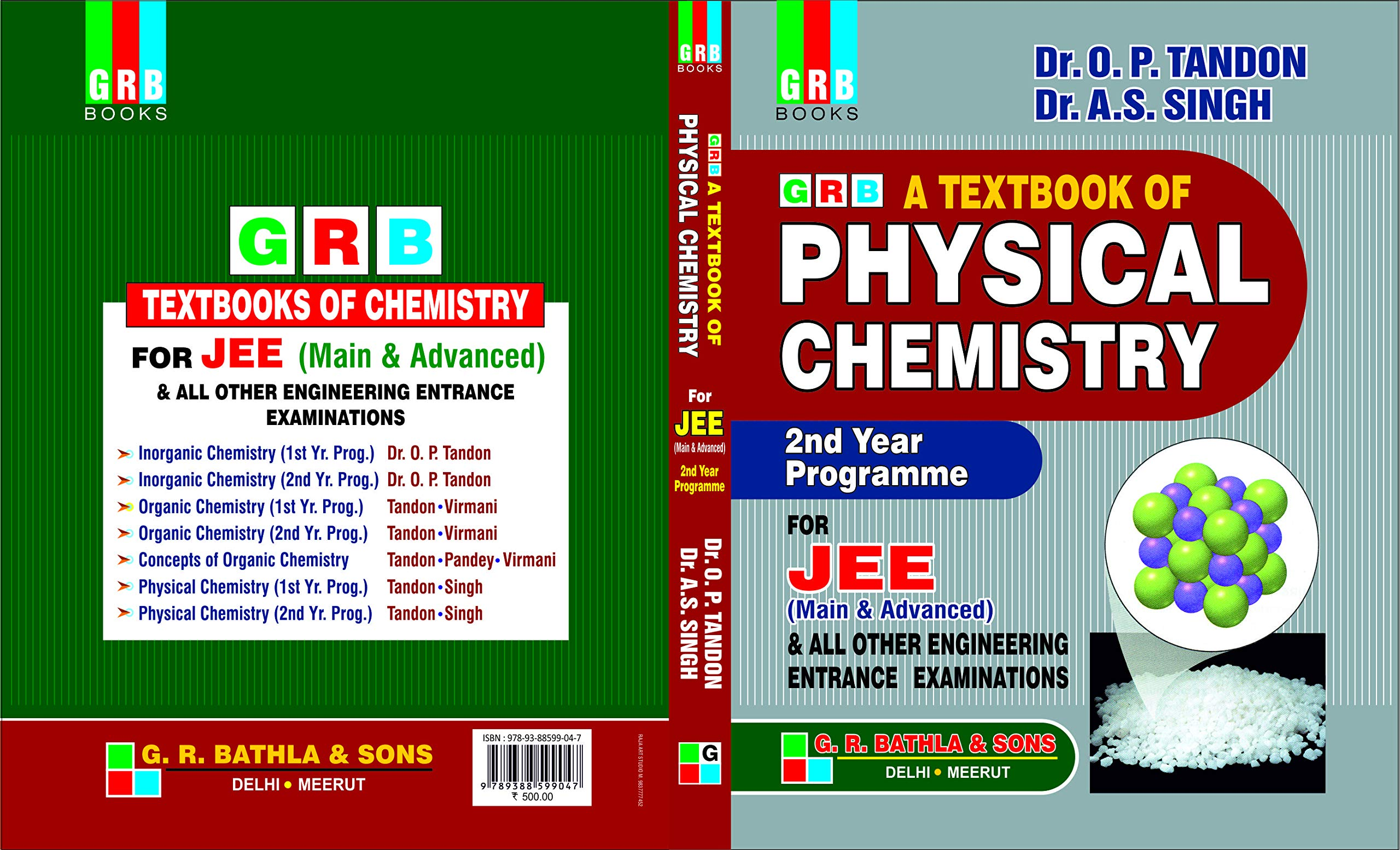 GRB A TEXTBOOK OF PHYSICAL CHEMISTRY FOR COMPETITIONS 2nd YEAR PROGRAMME