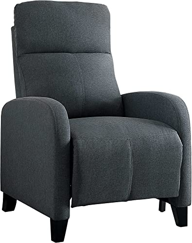 Homelegance Antrim Modern Profile Fabric Push Back Reclining Chair