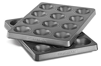 KitchenAid 12 Cavity Mini Muffin Pan, Set of 2