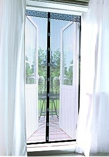 PrimeMatik - Mosquitera para Puerta 100 x 210 cm con Cierre magnético: Amazon.es: Electrónica