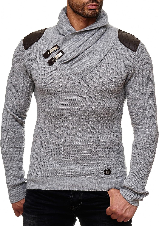 Redbridge Herren Strickpullover Pullover Knit Rollkragen Sweatshirt Strick-Pulli