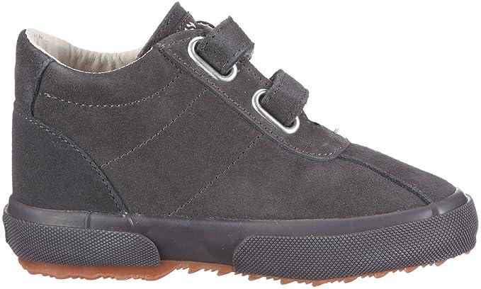 Superga S001NZ0 - Mocasines de ante para niños, color gris, talla 23: Amazon.es: Zapatos y complementos