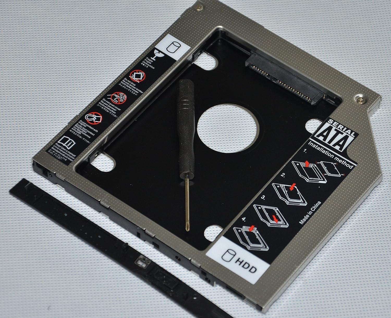 Deyoung 2nd 2.5 SATA Hard Drive HDD SSD Caddy Adapter for HP Envy m6-1206TX m6-1150ss m6-1125dx m6-1302sa