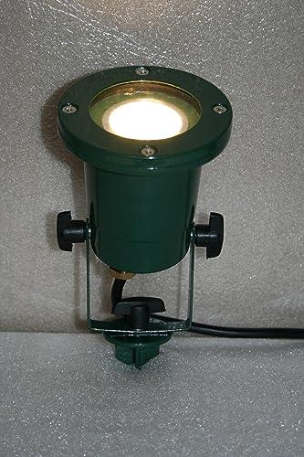 Foco con pincho para exteriores (IP68, GU10, incluye bombilla led de 4 W